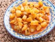 Постна зеленчукова картофена яхния
